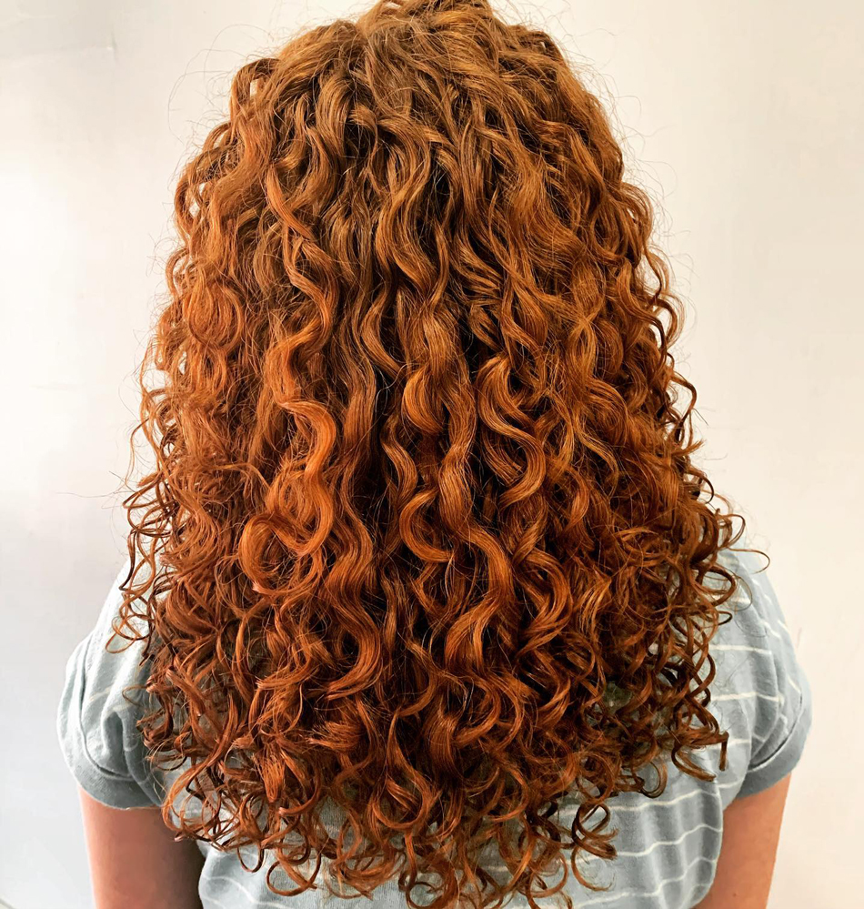 Uptown Curl Menomonie Curly Red Hair
